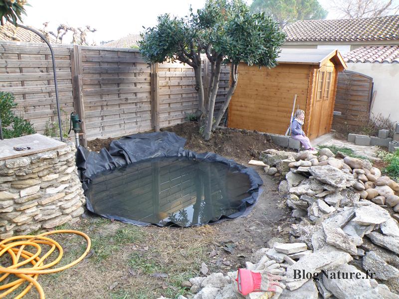 idee jardin avec bassin