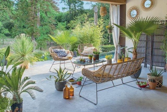 idee jardin avec terrasse