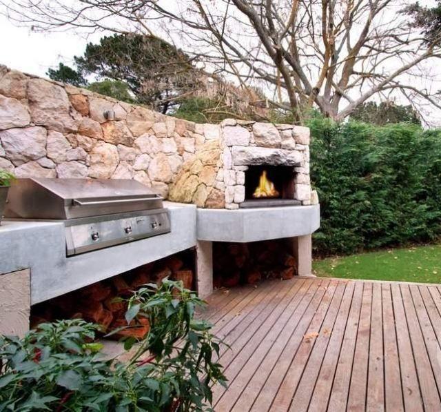 idee jardin barbecue