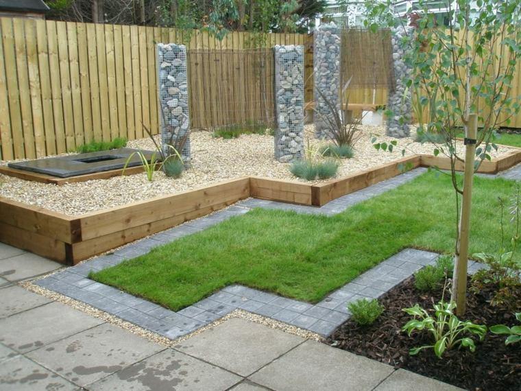 idee jardin bois