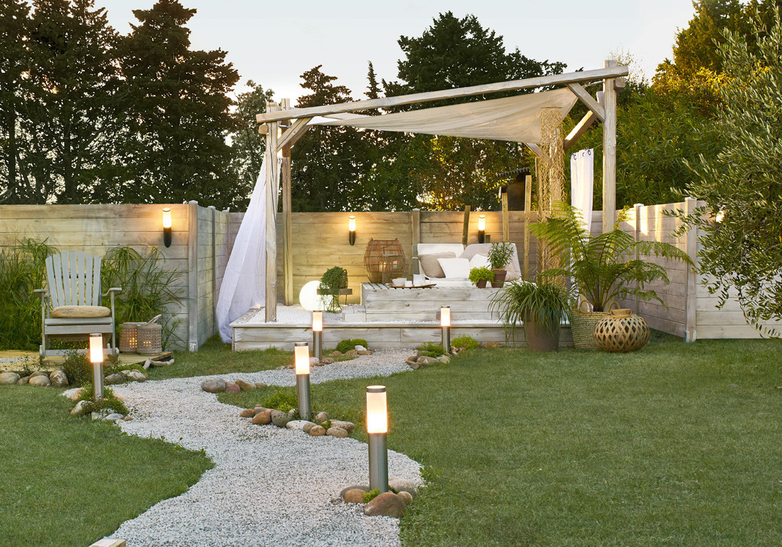 Idee jardin cosy - Decoration allee de jardin ...