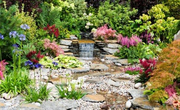 idee jardin de rocaille