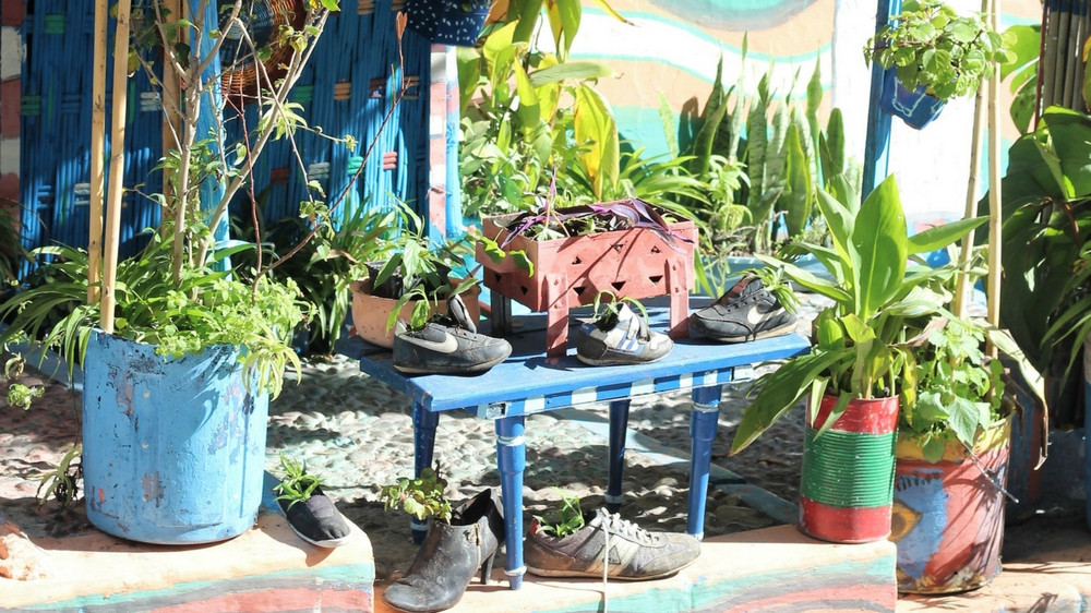 Idee jardin deco recup - Idee deco de jardin ...