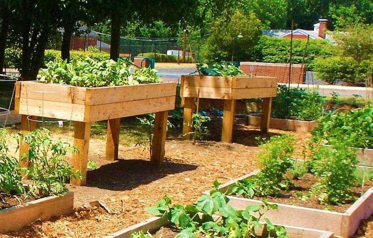 Idee jardin en hauteur - Jardin en hauteur sureleve ...