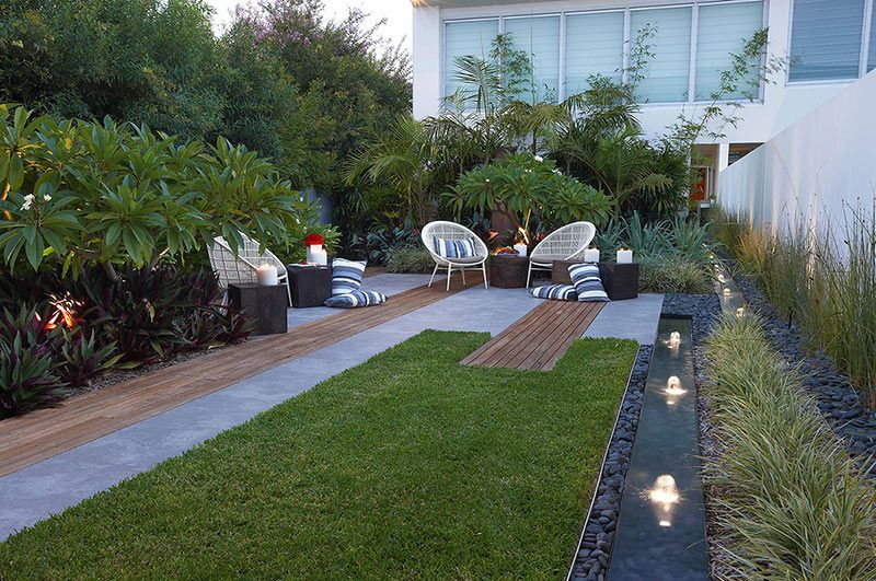 idee jardin en long
