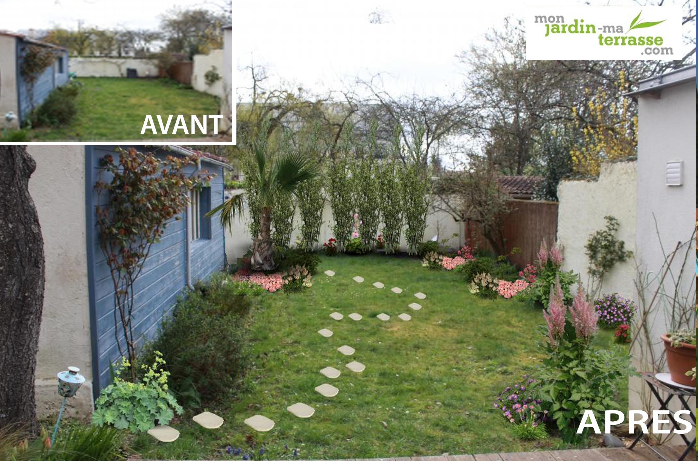 idee jardin en longueur