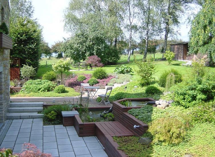 idee jardin en palier