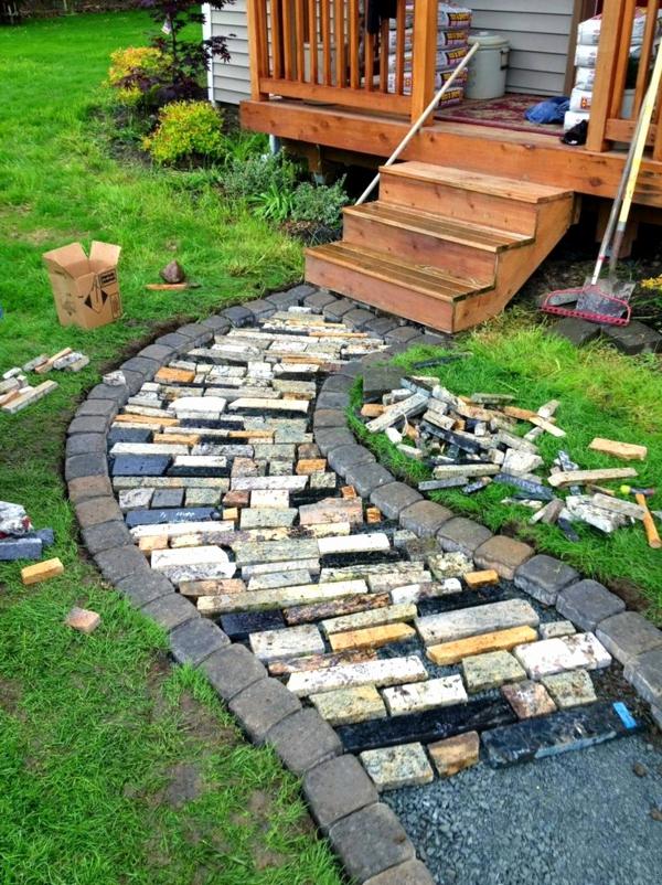 idee jardin gravier