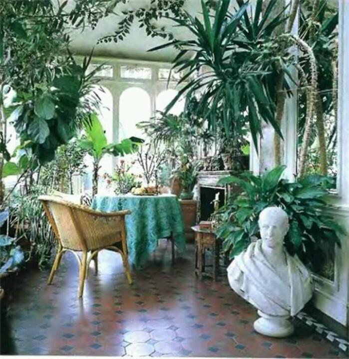 idee jardin hiver