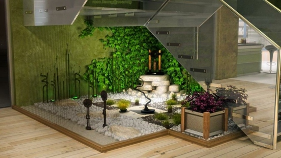 idee jardin interieur