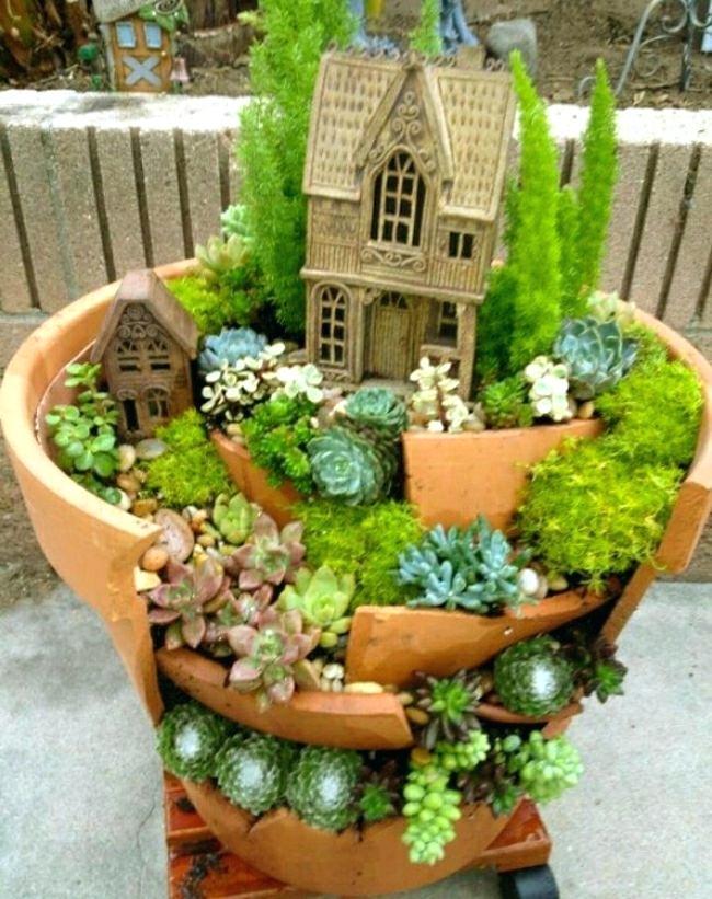 idee jardin japonais miniature