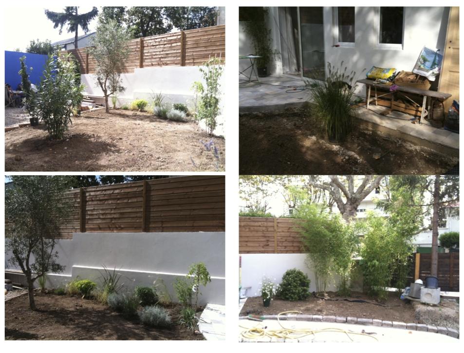 idee jardin maison neuve