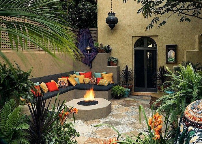idee jardin marocain