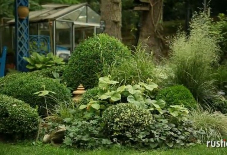 idee jardin massif