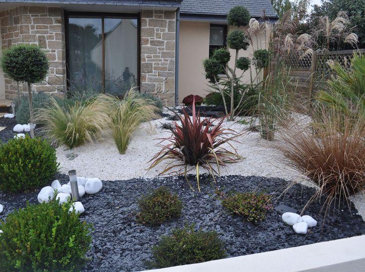 Photo Jardin Zen Chez Particulier : idee jardin mineral ~ Datayalova.com Idées de Décoration