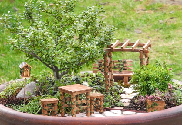 idee jardin miniature