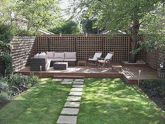 idee jardin moderne