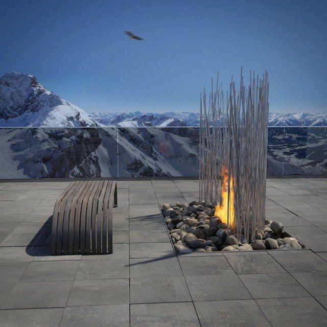 idee jardin montagne