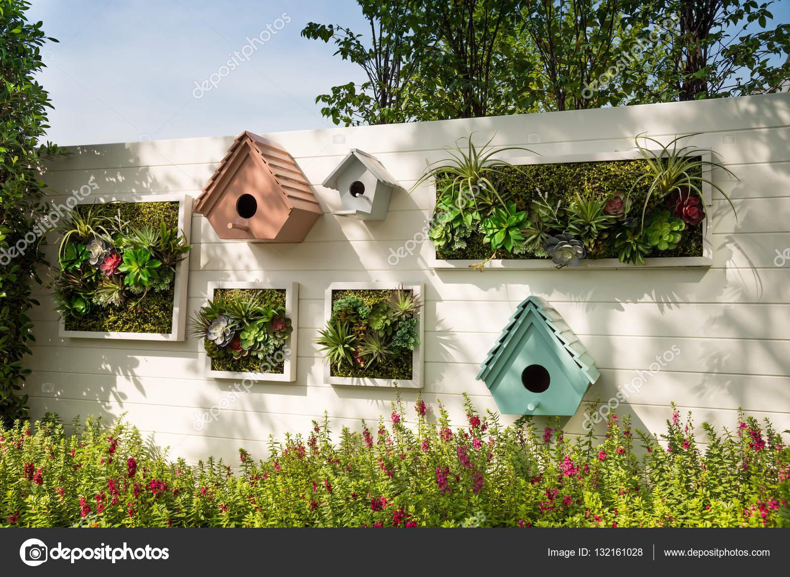 idee jardin mural