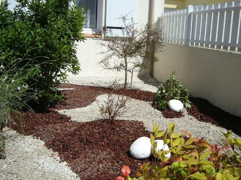 Aménager Son Jardin Avec Des Pierres idee jardin pierre