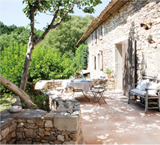idee jardin provencal
