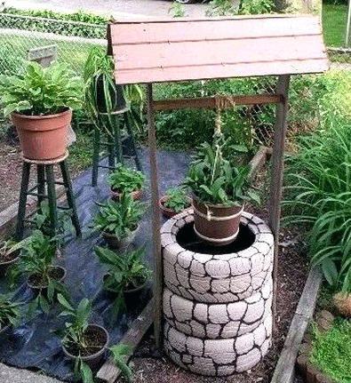 idee jardin recyclage