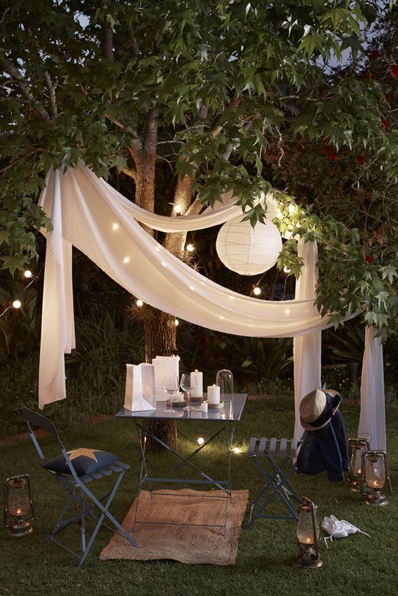 idee jardin romantique