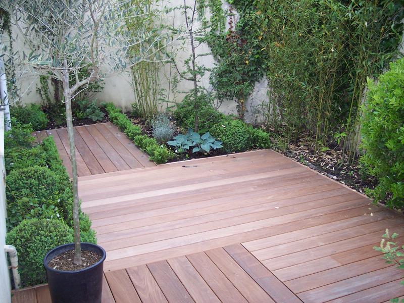 idee jardin terrasse bois. Black Bedroom Furniture Sets. Home Design Ideas