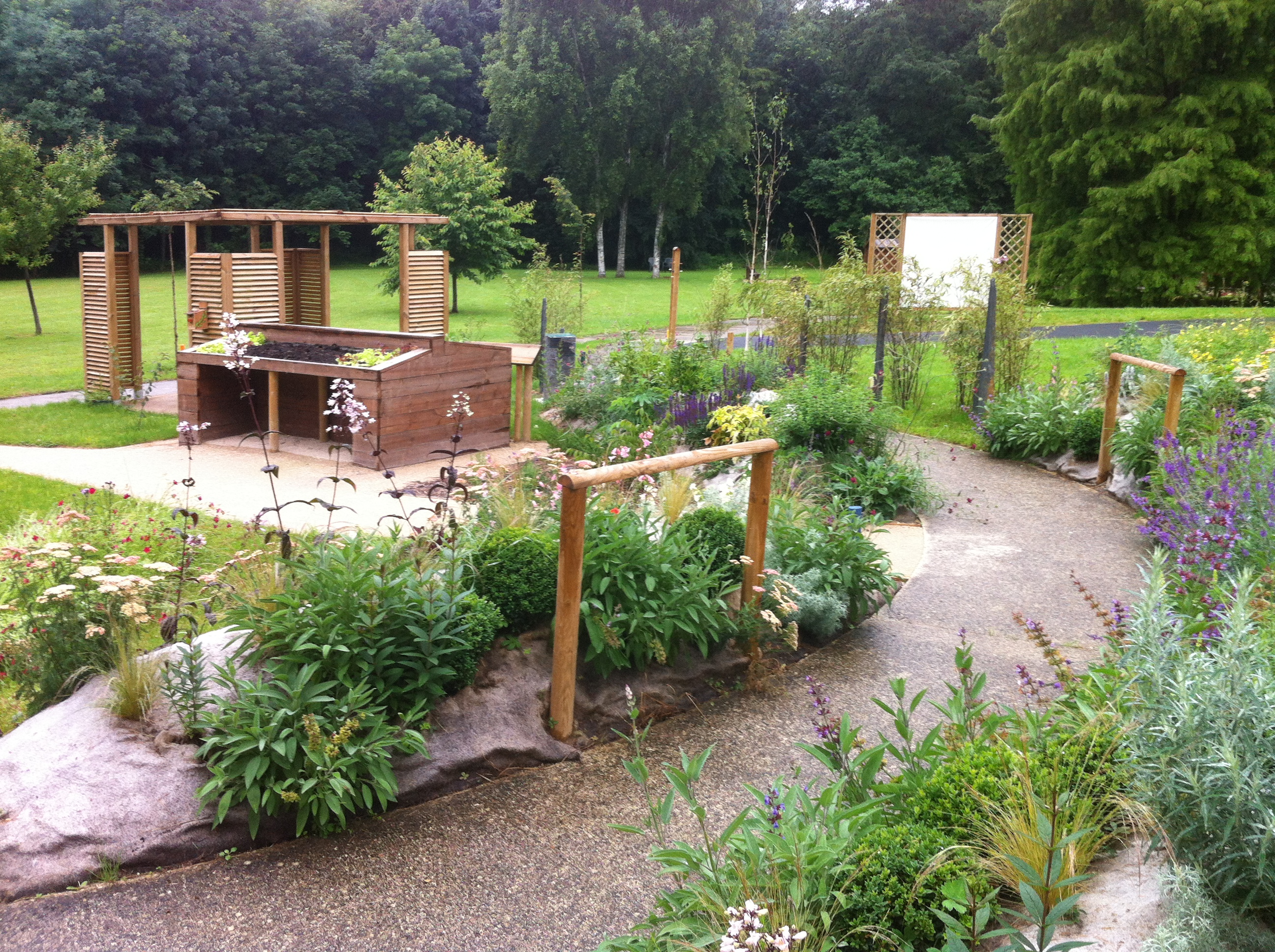 idee jardin therapeutique