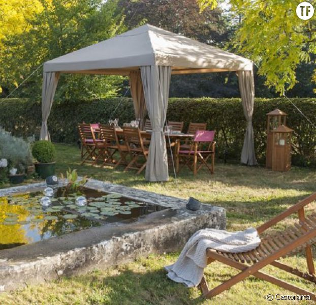 Idee jardin tonnelle - Idee deco de jardin ...