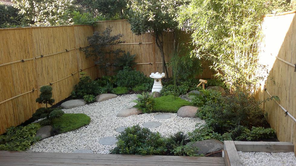 idee jardin zen miniature